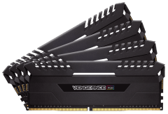 Operational memory Corsair Vengeance RGB Series LED 32GB (4x8GB), 3200MHz DDR4 CL16