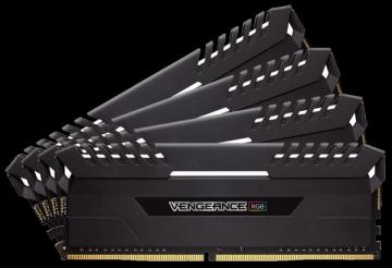 Operatyvinė atmintis Corsair Vengeance RGB Series LED 32GB (4x8GB), 3200MHz DDR4 CL16