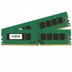 Operatyvinė atmintis Crucial 2x4GB 2400MHz DDR4 CL17 Unbuffered DIMM