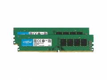 Operatyvinė atmintis Crucial 2x8GB 2666MHz DDR4 CL19 Unbuffered DIMM