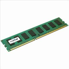 Operatyvinė atmintis Crucial 4GB, UDIMM, DDR3 1600MHz, CL11, Unbuffered, non ECC, PC3-12800, 1.35V Operatyvinė atmintis (RAM)