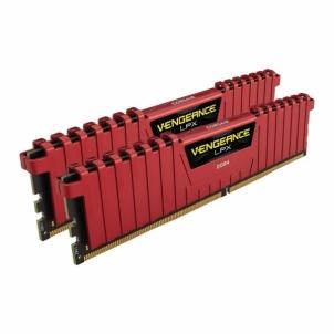 Operational memory DDR4 Corsair Vengeance LPX Black 8GB (2x4GB) 3000MHz CL15 1.35V, PC424000, red