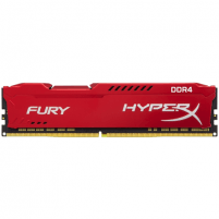 Operatyvinė atmintis Kingston HyperX Fury Red 8 GB, DDR4, 288-pin DIMM, 2666 MHz, Memory voltage 1.2 V, Registered No, ECC No