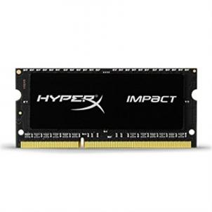 Operatyvinė atmintis Kingston HyperX Impact Black 8 GB, DDR3L, 204-pin SODIMM, 1600 MHz, Memory voltage 1.35, 1.5 V, ECC No, Registered No
