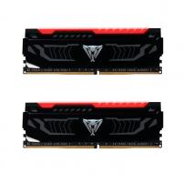 Operatyvinė atmintis Patriot VIPER LED RED DDR4 16GB 2400MHz CL14 DUAL KIT (2 x 8GB)