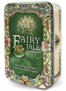 Oracle kortos Fairy Tale Lenormand skardinėje dėžutėje Žaidimai, kortos