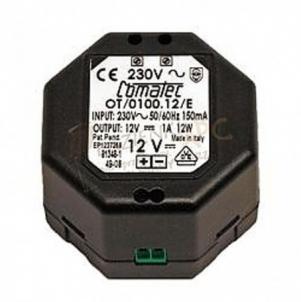 ORAS ELECTRA maitinimo šaltinis, 230/12 VDC 1A Vonios priedai