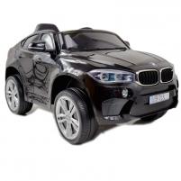 Originalus juodas elektromobilis BMW X6M 2199 su nuotolinio valdymo pultu (WDJJ2199) Cars for kids