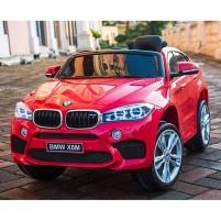 Originalus raudonas elektromobilis BMW X6M 2199 su nuotolinio valdymo pultu (WDJJ2199)