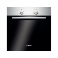 Orkaitė Bosch HBN301E2S Oven Black, Stainless steel, Electronic, Height 59.5 cm, Width 59.5 cm