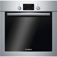 Oven Bosch Oven HBA241350S Built-in, 66 L, Stainless steel, Eco Clean, A, Push-pull buttons, Height 60 cm, Width 60 cm, Integrated timer, Electric
