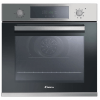 Oven Candy Oven FCP605XL Electric, 65 L, Stainless steel, Manual, A+, Rotary knobs, Height 59.5 cm, Width 59.5 cm, Built-in
