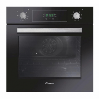 Orkaitė Candy Oven FCP615NXL Electric, 70 L, Black, Aquactiva, A+, Rotary knobs/ electronic, Height 60 cm, Width 60 cm, Built-in Įmontuojamos orkaitės