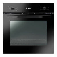 Orkaitė Candy Oven FCS100N Multifunction, 71 L, Black, Manual, A, Rotary knobs, Height 60 cm, Width 60 cm, Conventional
