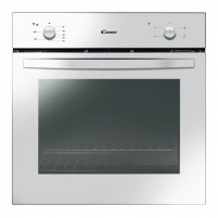 Orkaitė Candy Oven FCS100W Multifunction, 71 L, White, Manual, A, Rotary knobs, Height 60 cm, Width 60 cm, Conventional Įmontuojamos orkaitės