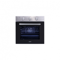 Oven CATA ME 6206 X Built-in, 60 L, Stainless steel/ Black, AquaSmart, Mechanical, Height 60 cm, Width 60 cm, Integrated timer Oven