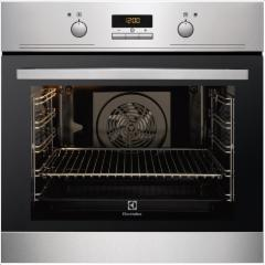 Orkaitė Electrolux EEB4233POX Built in Multifunctional Oven, 74L, EC A, LED Display, Thermostat, Easy to clean, Stainless steel Įmontuojamos orkaitės