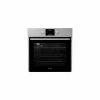Orkaitė Gorenje Multifunctional Oven BO635E11X 65 L, Stainless steel, AquaClean, A, Push pull, Height 60 cm, Width 60 cm, Integrated timer, Electric Įmontuojamos orkaitės