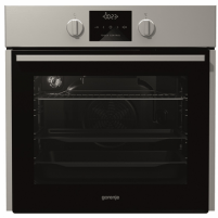 Orkaitė Gorenje Multifunctional Oven BO635E11XK 65 L, Stainless steel, AquaClean, A, Rotary, Height 60 cm, Width 60 cm, Integrated timer, Electric Įmontuojamos orkaitės