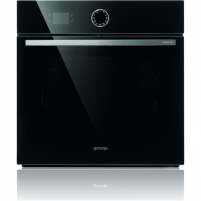 Orkaitė Gorenje Multifunctional Oven BO75SY2B 65 L, Black, AquaClean, A, Mechanical, Height 60 cm, Width 60 cm, Integrated timer, Electric