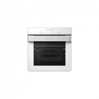 Orkaitė Gorenje Oven BOP747ORAW Built-in, 71 L, White, Pyrolysis, Electronic IconTouch, Height 60 cm, Width 60 cm, Cepeškrāsns