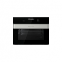 Orkaitė Gorenje Oven with microwawe BCM547ORAB 50 L, Black, Aqua clean with microwave, TouchControl, 50 L, Built-in, 1000 W