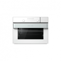 Oven Gorenje Oven with steamer BCS547ORAW Built-in, 50 L, White, AquaClean, Electronic IconTouch, Height 45.5 cm, Width 60 cm, Oven