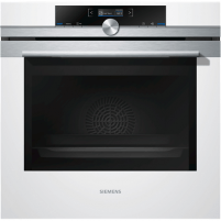 Oven SIEMENS HB632GBW1S Multifunctional Oven, 71 L, Stainless steel / White, Height 59.5 cm, Width 59.5 cm