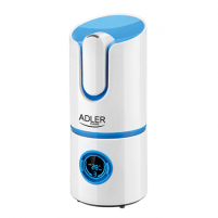 Oro drėkintuvas Adler Ionic Air humidifier AD 7957 Humidification capacity 280 ml/hr, White, 25 W, Water tank capacity 2.2 L Air humidifier