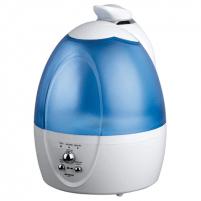 Oro drėkintuvas ORAVA Air Humidifier HUM-32 White/ blue, Type Ultrasonic, 32 W, Water tank capacity 3.5 L Oro drėkintuvai