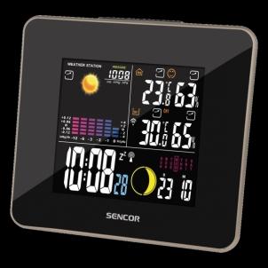 Orų stotelė Weather Station Sencor SWS 260 Interjero laikrodžiai