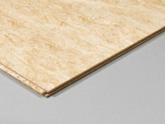 Grooved OSB3 board EGGER 2500x675x18mm (1,6875 sq.m.) Chips card (osb)