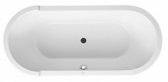 Oval bathtub Starck 1900x900mm,white, freestandi