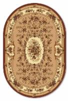 Oval carpet Acvila Moldova LUIZA 484122710804 1,0 x 2,0 Carpets