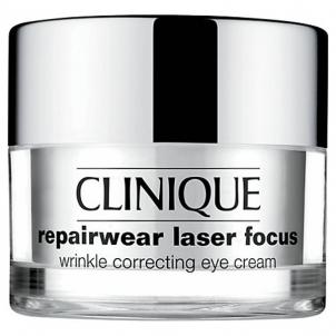 Paakių kremas Clinique Repairwear Laser Focus Eye Cream Cosmetic 15ml Paakių priežiūros priemonės