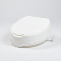 Paaukštinimas tualeto sėdynei su dangčiu, 15 cm Vonios ir tualeto reikmenys