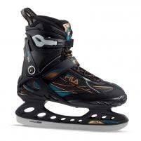 Pačiūžos Primo Ice black/blue/bronze/F18 48 Ice skates