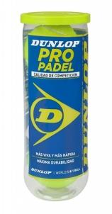 Padel teniso kamuoliukai PRO Padel 3-tin Āra tenisa bumbiņas