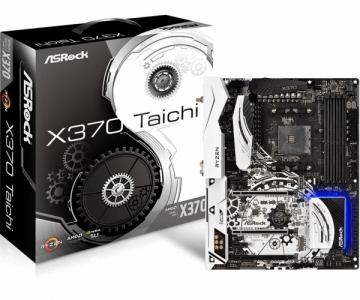 Pagrindinė kompiuterio plokštė ASRock X370 Taichi, AM4, DDR4 2667, 2 PCIe 3.0 x16, 10 SATA3, 2 USB 3.1