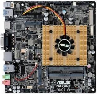 Pagrindinė kompiuterio plokštė ASUS N3700T/C/SI, INTEL BRASWELL N3700, U3S6