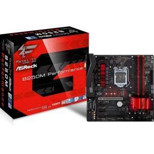 Pagrindinė plokštė ASRock B250M Performance, INTEL B250 Series,LGA1151,4 DDR4, 2 x M.2-po testach