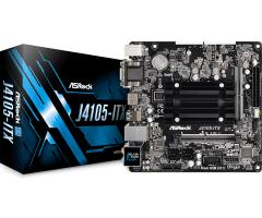 Pagrindinė plokštė ASRock Super Alloy J4105-ITX, DDR4 2133, 1 PCIe x1