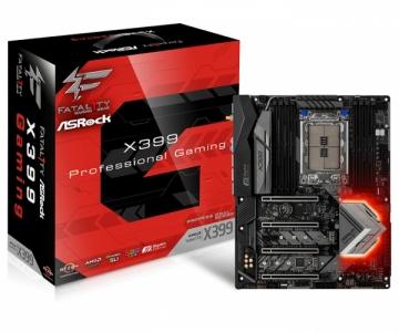 Pagrindinė plokštė ASRock X399 PROF. GAMING, X399 TR4, DDR4 3600+(OC), USb 3.1