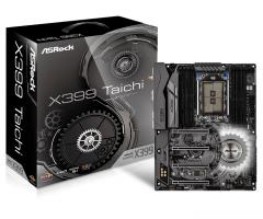 Pagrindinė plokštė ASRock X399 TAICHI, TR4 X399, DDR4 3600+(OC), USB 3.1