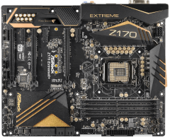Pagrindinė plokštė ASRock Z170 EXTREME6+, Z170, DualDDR4-2133, SATA3, w/o any accesories