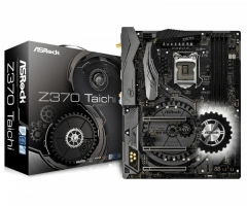 Pagrindinė plokštė ASRock Z370 Taichi, LGA1151, DDR4 4333, 3 PCIe 3.0 x16, 8 SATA3, 11 USB 3.1