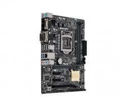 Pagrindinė plokštė ASUS H110M-C, H110, DDR4-2133, SATA3, DVI, D-Sub, mATX