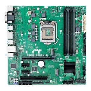 Pagrindinė plokštė Asus PRIME B250M-C/CSM Processor family Intel, Processor socket LGA1151, DDR4-SDRAM, Memory slots 4, Supported hard disk drive interfaces M.2, Serial ATA III, Number of SATA connectors 6, Chipset Intel B250, Micro ATX