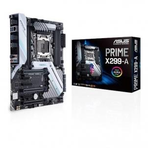 Pagrindinė plokštė ASUS PRIME X299-A, X299, LGA 2066, 8 x DIMM DDR4, USB 3.1