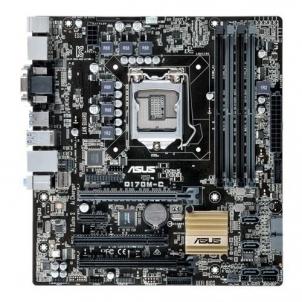 Pagrindinė plokštė ASUS Q170M-C/CSM/C/SI, LGA-1151 4 x DDR4 USB 3.0